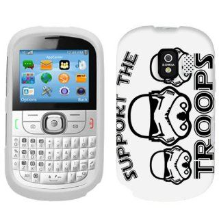 Alcatel One Touch 871A Support the Troops Phone Case Cover: Cell Phones & Accessories