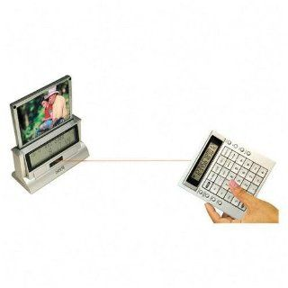 """Calculator, 12 Digit, W/World Time Clock, 6 1/2""""x2 3/4""""x7 1/2 (VCT650) Category Non Printing  Electronics"""