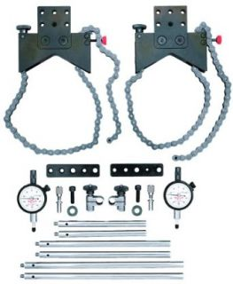 Starrett S668DZ Shaft Alignment Clamp Set With Fitted Case Alignment Dial Gauge Industrial & Scientific