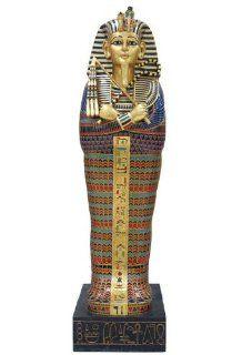 Unicorn Studios WU73278VA Tutankhamen Sarcophagus King Tut Egyptian Cabinet   Statues