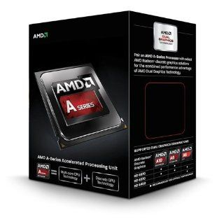 AMD Quad Core A10 Series APU for Desktops A10 6800K with Radeon HD 8670D (AD680KWOHLBOX): Computers & Accessories