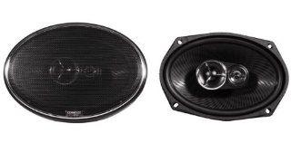 """Brand New Kenwood Excelon KFC X693 6"""" x 9"""" 3 Way Pair Of Car Speakers Totalling 600 Watts Peak / 260 Watts RMS  Component Vehicle Speakers"""