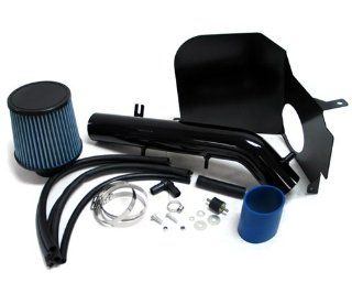 99 04 Toyota Tacoma BLACK Cool Air Intake Kit with Heat Shield 00 01 02 03: Automotive
