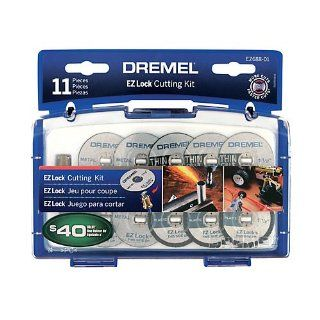 Dremel EZ688 01 EZ Lock Mini Cutting Kit for Metal and Plastic   Power Rotary Tool Accessories