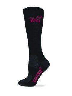 Realtree Girl Women's Ultra Dri Boot Socks (1 Pair), Black, Medium Sports & Outdoors