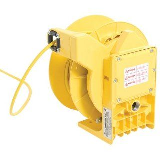 Woodhead 9224 86 Cable Reel With Light, Industrial Duty, 16/3 SOW Cord Type, 30ft Cord Length Portable Work Lights Industrial & Scientific