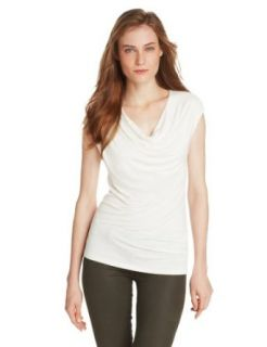 T Tahari Women's Savina Knit, Joey White, X Small at  Women�s Clothing store: Fashion T Shirts