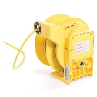 Woodhead 9383 3080 Cable Reel With 3080 10 Accessory, Industrial Duty, NEMA 5 20 Outlet Type, 4 Outlets, 12/3 SOW Cord Type, 25ft Cord Length Industrial & Scientific