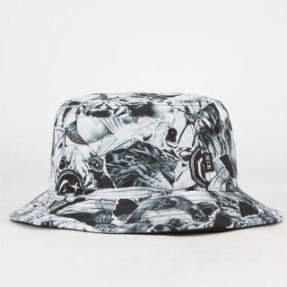 Scraps Mens Bucket Hat White One Size For Men 242145150