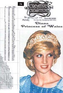 Princess Diana Cross Stitch Pattern: Everything Else