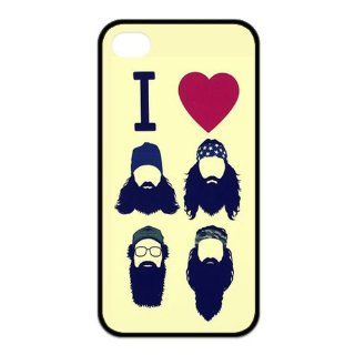 Duck Dynasty High Quality Design TPU Case Protective Skin Cover For Iphone 4 4s iphone4s 81314: Cell Phones & Accessories
