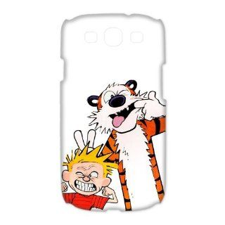 Custom Calvin and Hobbes 3D Cover Case for Samsung Galaxy S3 III i9300 LSM 729: Cell Phones & Accessories