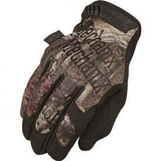 Mechanix Wear Mossy Oak Original Gloves , Primary Color: Brown, Gender: Mens/Unisex, Size: Sm, Size Modifier: 8, Distinct Name: Mossy Oak MG 730 008: Automotive