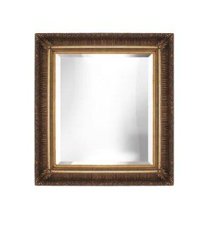 Decorative Gold Bevelled Wall Mirror 36x48   Wall Mounted Mirrors