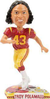 Troy Polamalu USC Trojans Bobblehead #43 : Sports Fan Bobble Head Toy Figures : Sports & Outdoors