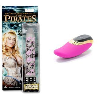 Riley Steele's Forbidden Fancies Pirates Rocket Vibe and Tongue Vibrator Combo Health & Personal Care