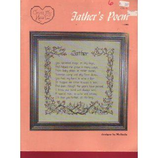 Father's Poem: Embroidery Pattern: Cross My Heart: Books