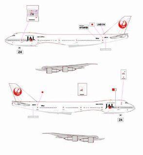 Jet X JAL B747 246SR JA8134 Model Airplane: Toys & Games