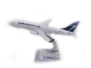 b737 800 Westjet Model Plane Toy Plane Model Air Plane Model Toys & Games