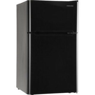 Black & Decker 3.3 cu ft 2 Door Refrigerator, Black: Appliances