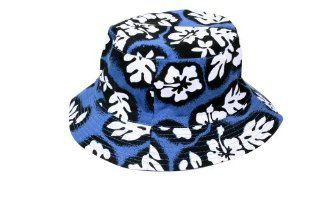 Simplicity Hawaiian Traveling Reversible Bucket Hat   Floral Print   Unisex at  Women�s Clothing store: Sports Fan Baseball Caps