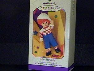 Hallmark Mop Top Billy Madame Alexander Ornament   Decorative Hanging Ornaments