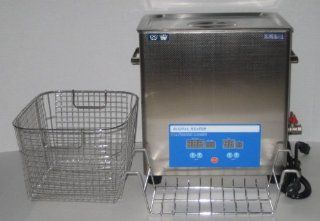 14.5L (3.83 GAL) 800W DSA200SE SK2 HEATED INDUSTRIAL ULTRASONIC PARTS CLEANER