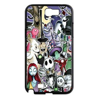 Mystic Zone Customized The Nightmare Before Christmas Samsung Galaxy Note 2(N7100) Case for Samsung Galaxy Note II Hard Cover WK0460 Cell Phones & Accessories