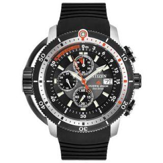 Mens Citizen Eco Drive™ Promaster Depth Meter Chronograph Watch