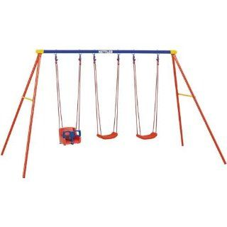 Kettler 8382 790B Multi Play Swing set with Baby Swing Seat Toys & Games