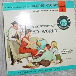 Mr. World Talking Globe records Toys & Games