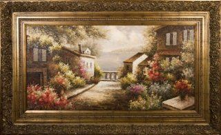 Artmasters Collection PA88656 805AG End of the Road II Framed Oil Painting   Prints