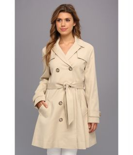 Vince Camuto Tie Waist Trench Coat