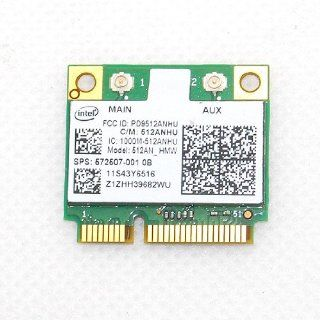 Half Size Wireless Card Intel MINI PCI E 5100 For IBM Lenovo Thinkpad Inspiron 802.11a/g/n 2.4 Ghz & 5Ghz 54Mpbs Computers & Accessories