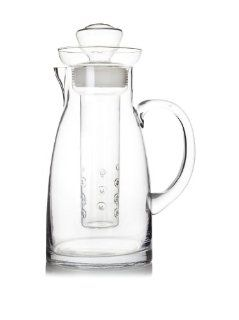 Artland Simplicity Flavor Infusing Pitcher: Fruit Infuser Glass Pitcher: Kitchen & Dining