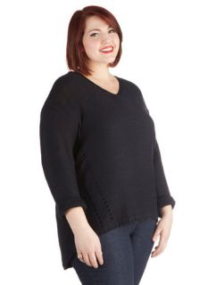 Voice Lessons Sweater in Plus Size  Mod Retro Vintage Sweaters