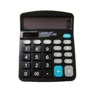 JOINUS JS 837 Dual Power 12 Digit Calculator  Electronics