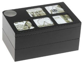 Shop Umbra Spindra Pivoting Storage Box with (5) 2 Inch by 2 Inch Photo Opening, Espresso at the  Home D�cor Store