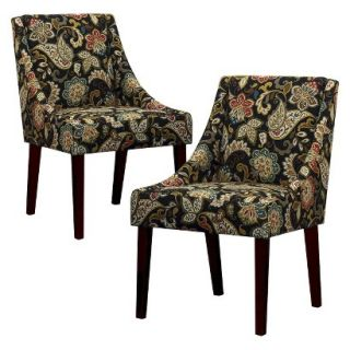 Skyline Dining Chair Set Griffin Dining Chair Jali   Java(Set of 2)