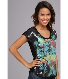 Rock and Roll Cowgirl Cap Sleeve Boxy