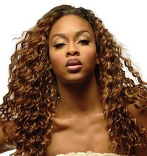 "SAGA Remi Human Hair DEEP WAVE 12""   #4/27/30 : Hair Replacement Wigs : Beauty"
