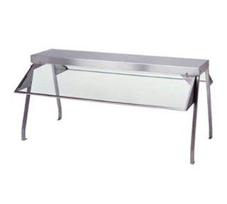 Duke 937FL Buffet Shelf w/ 2 Sneeze Guards, Fluorescent Lights, 44.37x10.5x20 in, Each   Fluorescent Tubes