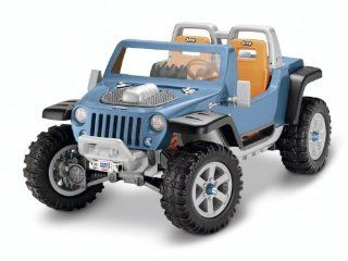 Fisher Price Power Wheels Ultimate Terrain Traction Jeep Hurricane Toys & Games
