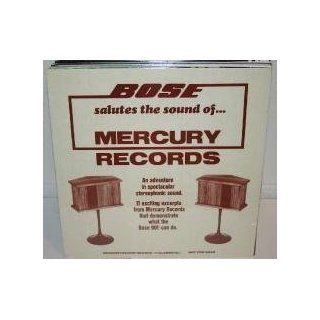 Bose Salutes the Sounds of Mercury Records   BOSE 901 DEMONSTRATION Record #1 (Classical)   vinyl LP: Music