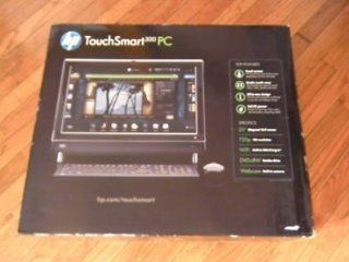 "HP Black 20"" TouchSmart 300 1223 All In One Desktop PC with AMD Athlon II X2 240e Processor & Windows 7 Home Premium : Desktop Computers : Computers & Accessories"