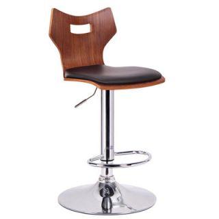 Wholesale Interiors Baxton Studio Amery Adjustable Swivel Bar Stool  SD 2172