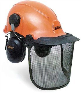 STIHL 0000 886 0100 Forestry Helmet System (Discontinued by Manufacturer) : Stihl Wood Cutting Forestry Helmet : Patio, Lawn & Garden