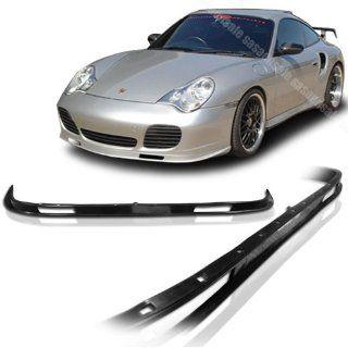 NEW   01 05 PORSCHE 996 911 CARRERA TURBO OEM Style PU Front Bumper Lip Automotive