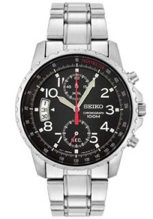 Seiko SNN073P1  Watches,Mens Chronograph Stainless Steel, Casual Seiko Quartz Watches