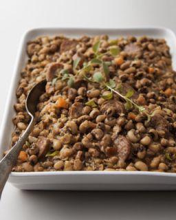 Black Eyed Peas and Sausage